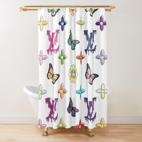 Drippy Desginer  Shower Curtain