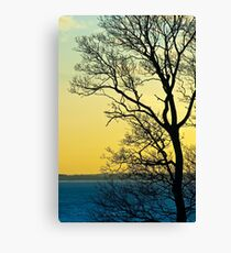 Sunset at Sewerby, East Yorkshire Canvas Print