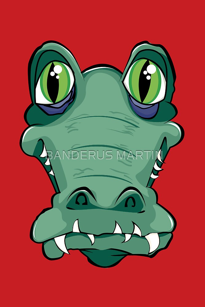 Cocodrile head by BANDERUS MARTIN