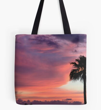 Sunset in Los Gigantes, Tenerife Tote Bag