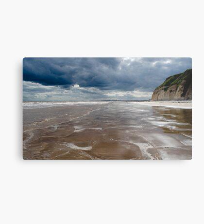 Dane's Dyke Beach, Bridlington Metal Print