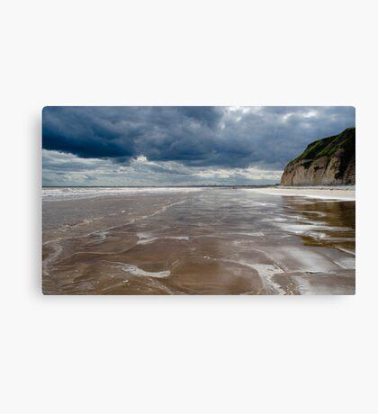 Dane's Dyke Beach, Bridlington Canvas Print