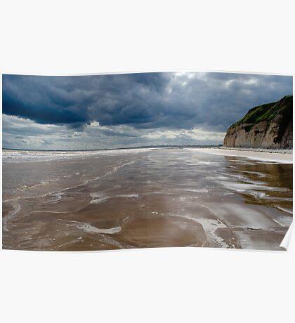 Dane's Dyke Beach, Bridlington Poster