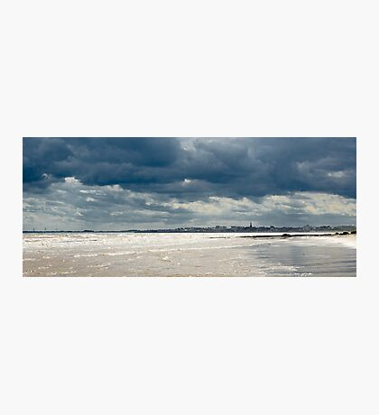 The sea at Bridlington, East Yorkshire Photographic Print