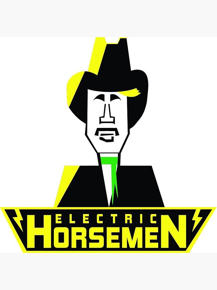 Electric Horsemen (Vintage 3) by wesg1261