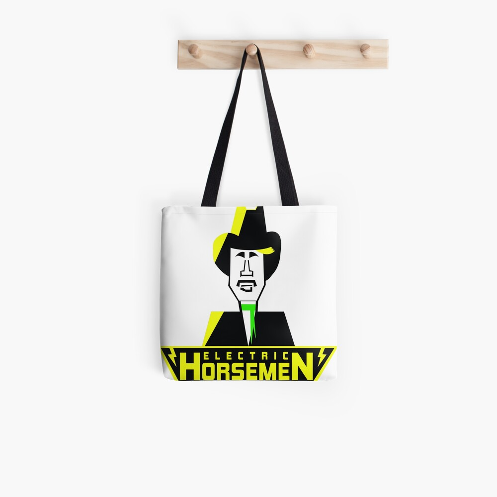 Electric Horsemen (Vintage 3) Tote Bag