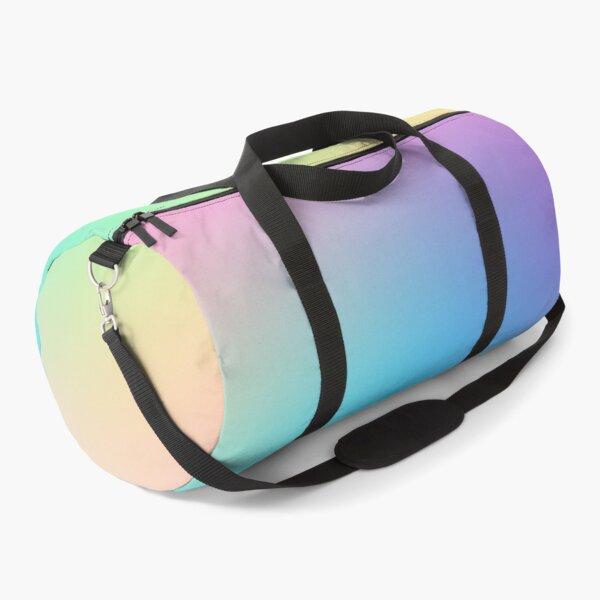 Soft Colorful Gradient Duffle Bag