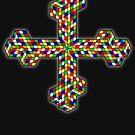 Pixel Crosses by Ben Herman