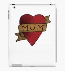 Mum ♥ heart tattoo - Matt Helders iPad Case/Skin