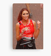 Amy Childs from the only way is Essex programme Canvas Print