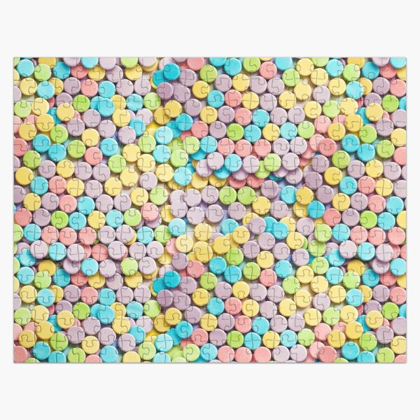 Sweet and Sour Candy Pattern  Jigsaw Puzzle