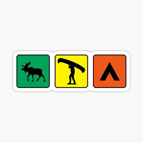 Algonquin Signs  Sticker