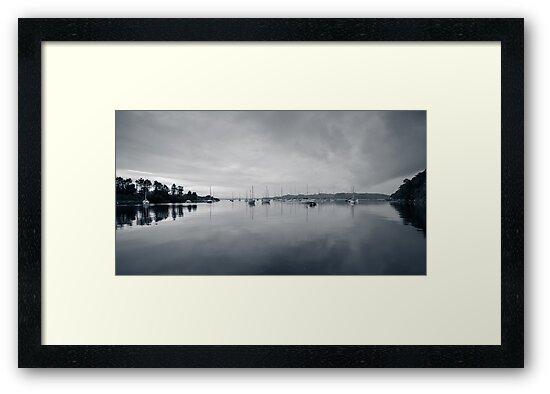 Crinan Harbor Scotland by mlphoto