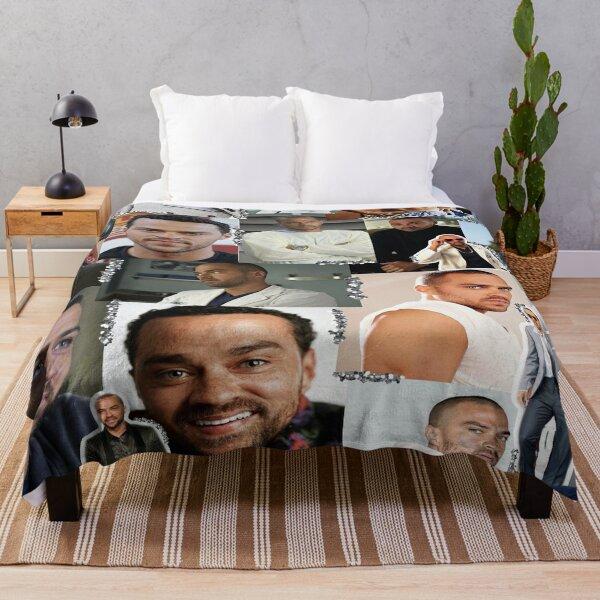 Jackson Avery Collage Throw Blanket