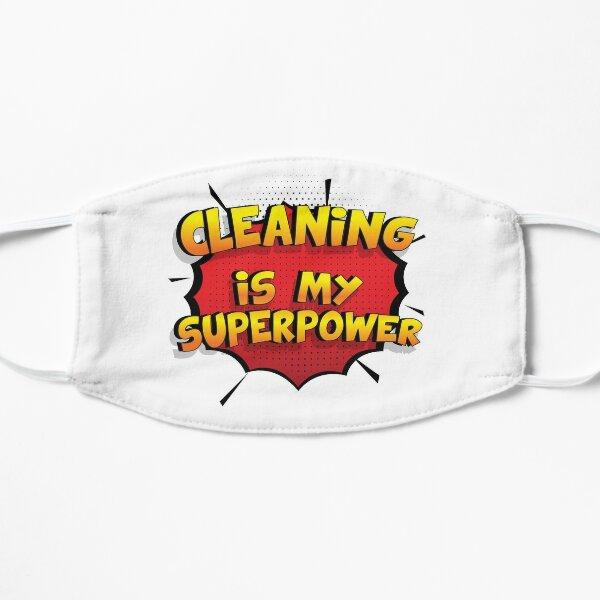 Cleaning est mon cadeau super design Cleaning dr�le Masque sans plis