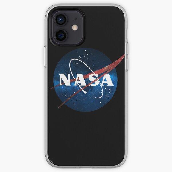 Carte des étoiles du logo de la NASA Coque souple iPhone