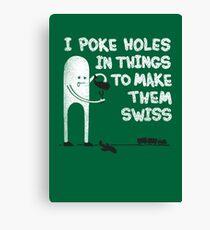 Making Swiss Happen Canvas Print