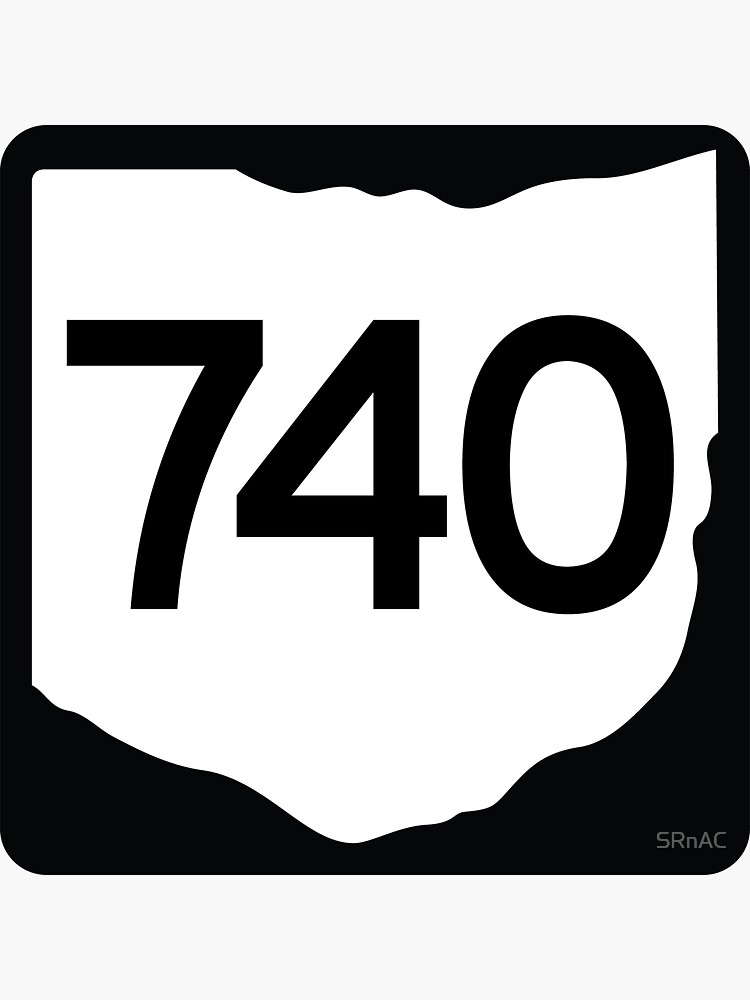 Ohio State Route 740 (Area Code 740) by SRnAC