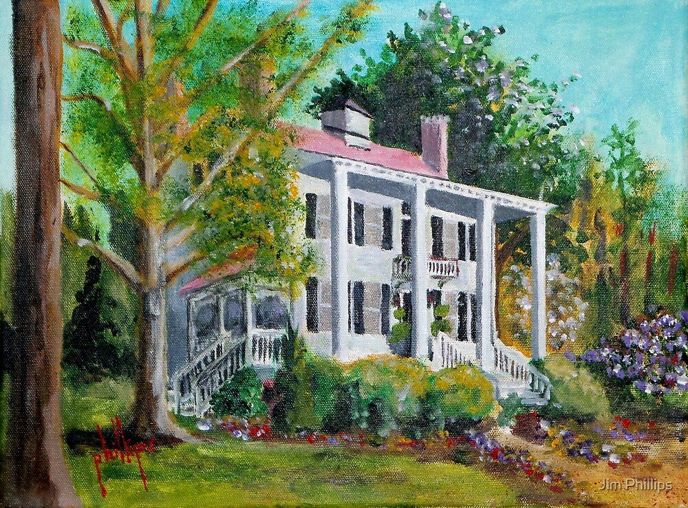 Palo Alto Plantation, Swansboro, NC by Jim Phillips