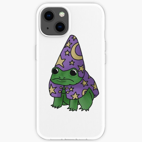 Wizard frog iPhone Soft Case