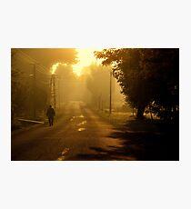 Silence morning Photographic Print