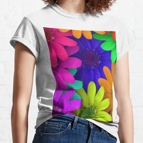 flowers flower colors Classic T-Shirt