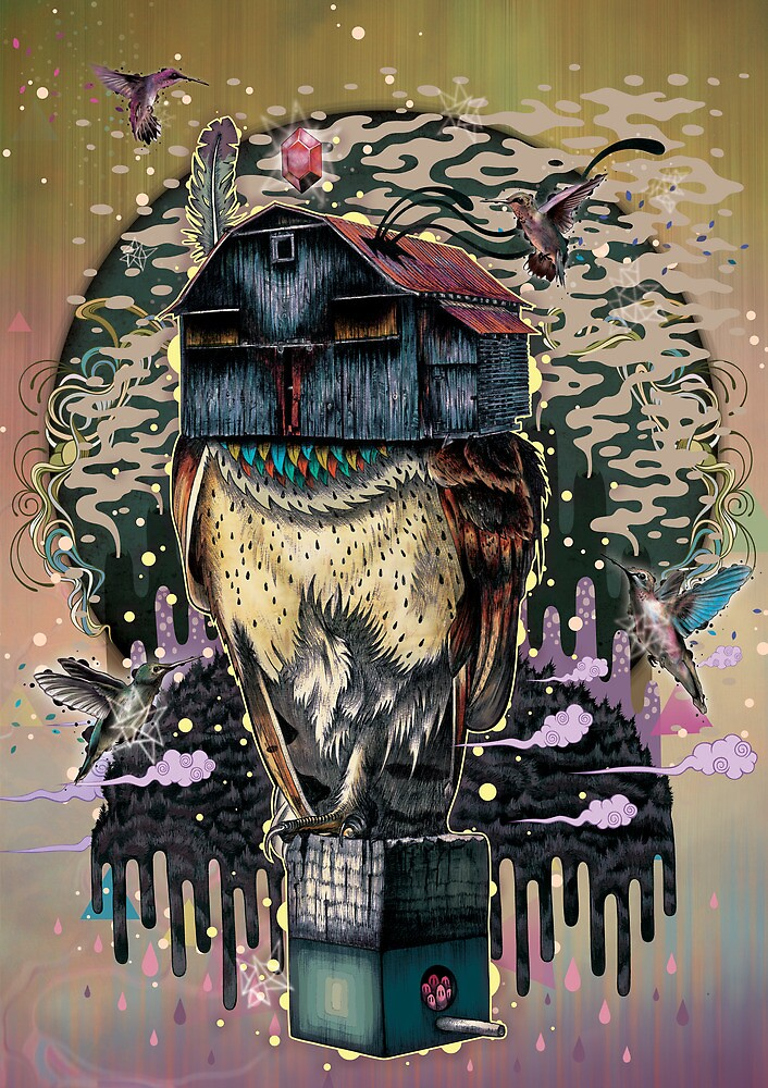 The Barn Owl Fortune Teller by MatMiller