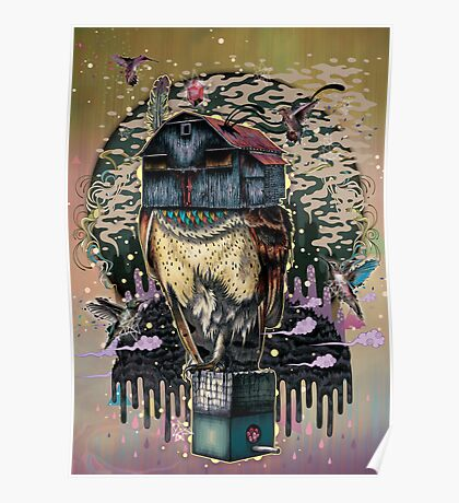 The Barn Owl Fortune Teller Poster