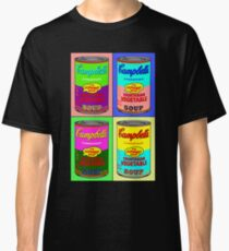 Vegetarian Campbell's Warhol Tribute Classic T-Shirt