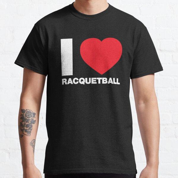 I Love Sport, I love Racquetball  Classic T-Shirt