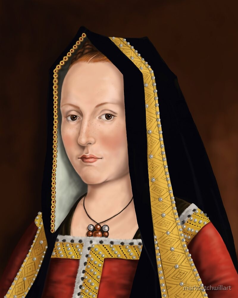 Elizabeth of York by marksatchwillart