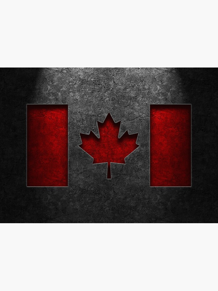 Canadian Flag Stone Texture by learningcurveca