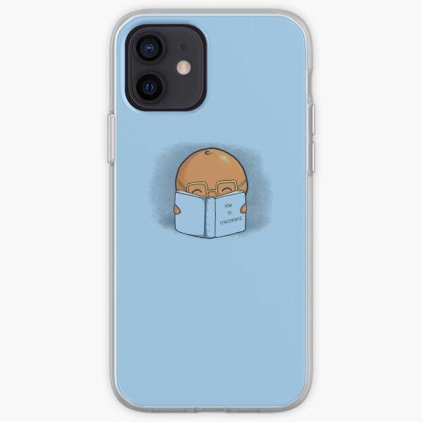 Orange Concentrate iPhone Soft Case