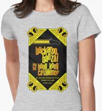 Buckaroo Banzai 2011 Tour - Yellow Version 2 Womens Fitted T-Shirt