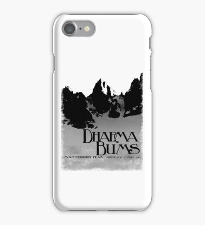 dharma bums - matterhorn peak iPhone Case/Skin