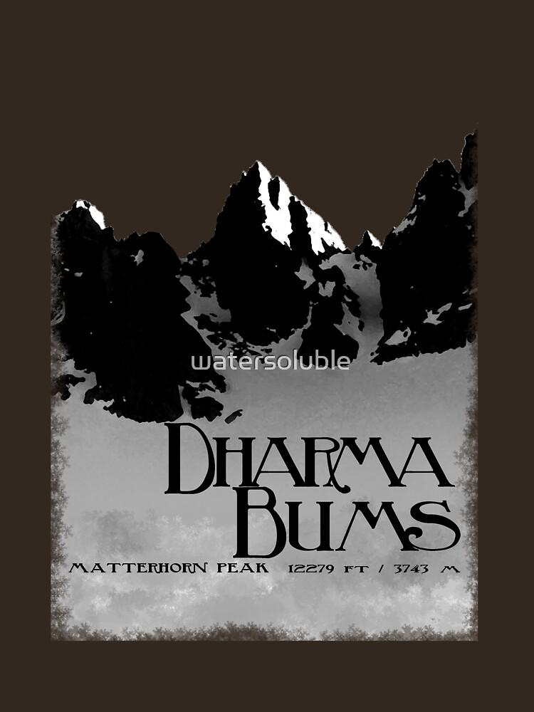 dharma bums - matterhorn peak by watersoluble
