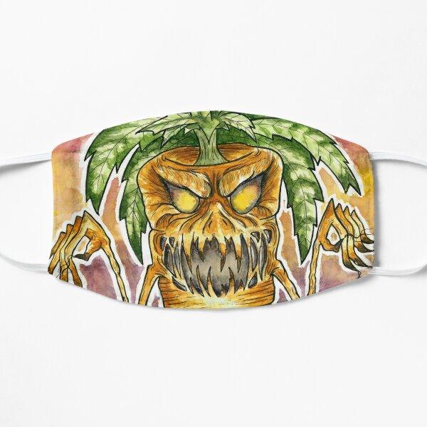 Evil Carrot Monster  Flat Mask