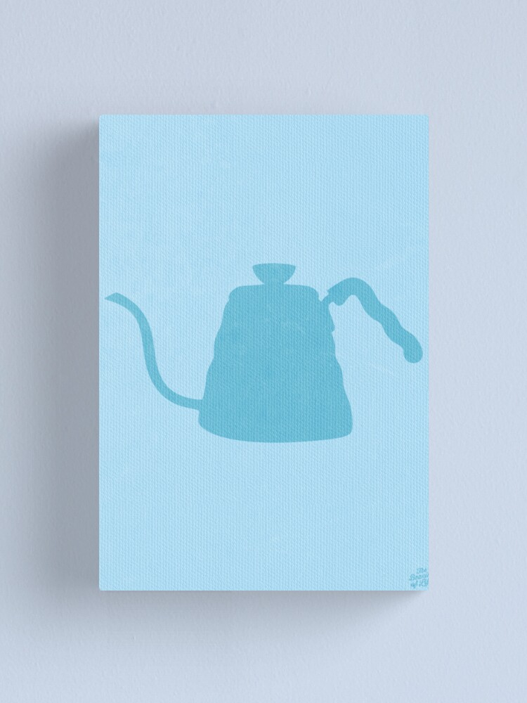 Alternate view of The Brew Series: HARIO KETTLE Canvas Print