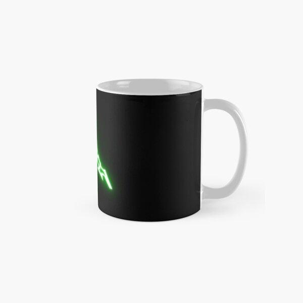 Désert noir symbole en ligne vert Mug classique