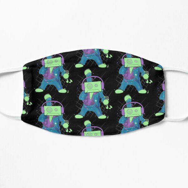 Disco Tapes Flat Mask