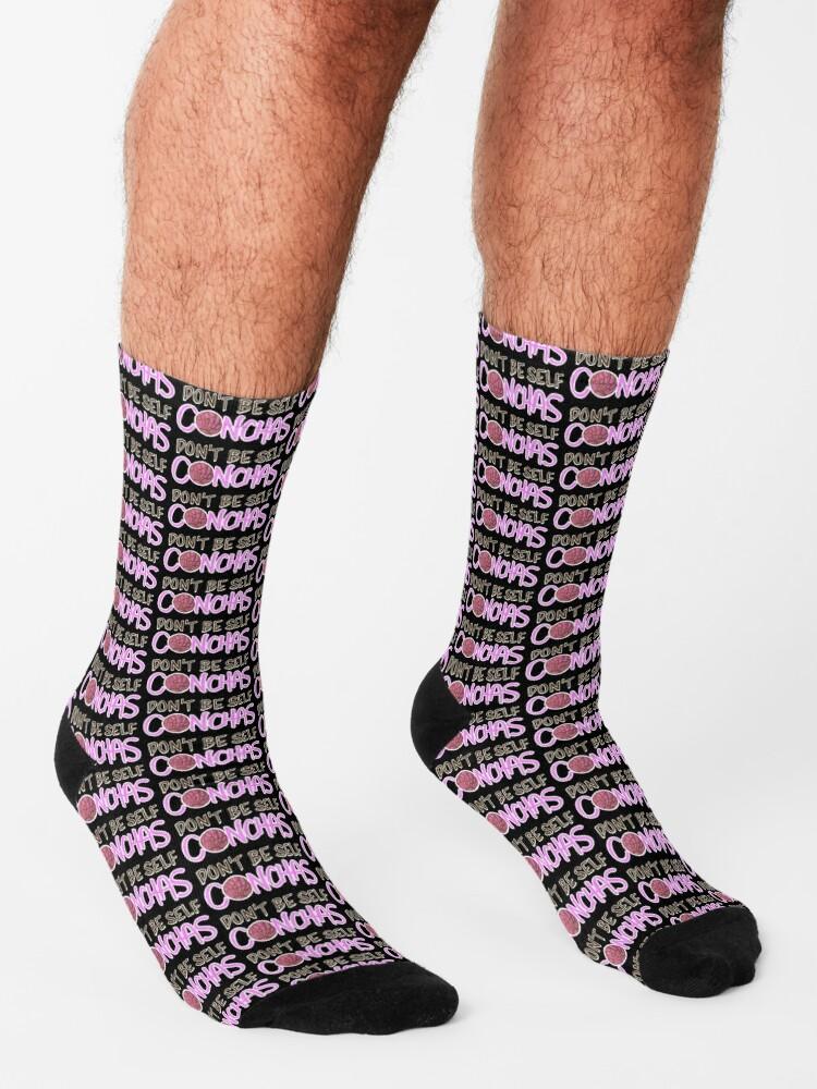 Alternate view of Don't Be Self Conchas Socks