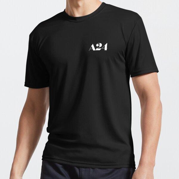 T-shirt à logo blanc A24 T-shirt respirant
