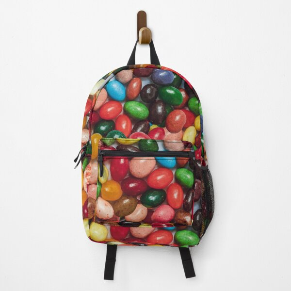 Gourmet Jelly Bean Candy Photo Pattern Backpack