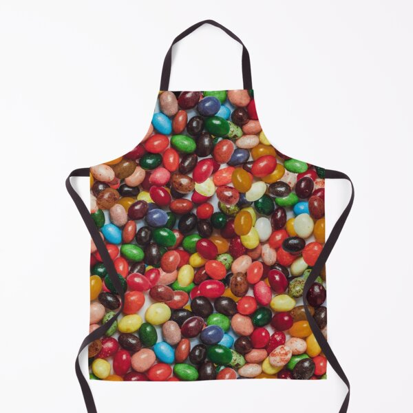 Gourmet Jelly Bean Candy Photo Pattern Apron