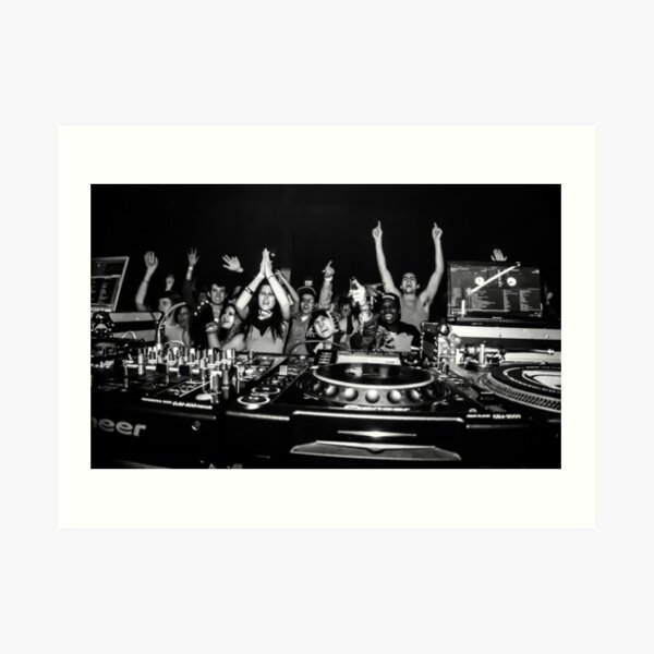 Photo Music Dancing Pioneer DJ Decks Turntables Giant Wall Art Poster Print