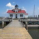 Roanoke Marshes Replica Lighthouse by Jack Ryan