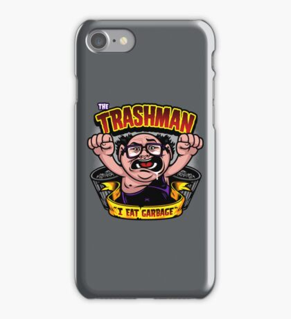 The Trashman iPhone Case/Skin
