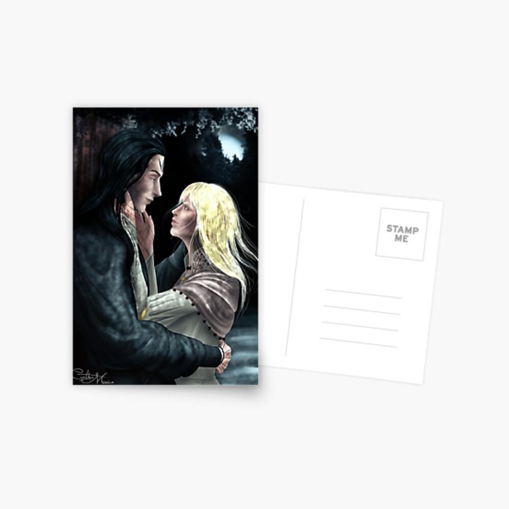 Wicked Saints - Malachiasz and Nadya Postcard