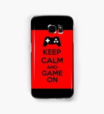 Keep Calm And Game On Samsung Galaxy Case/Skin