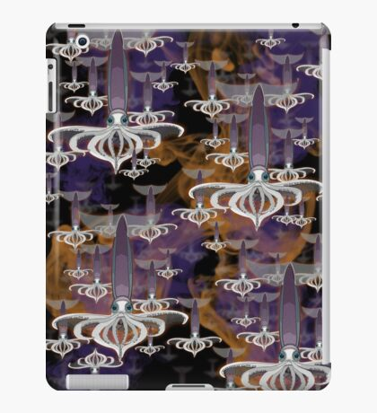 a cloud of squid iPad Case/Skin